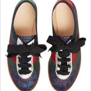 GUCCI Falacer Lurex GG Sneaker